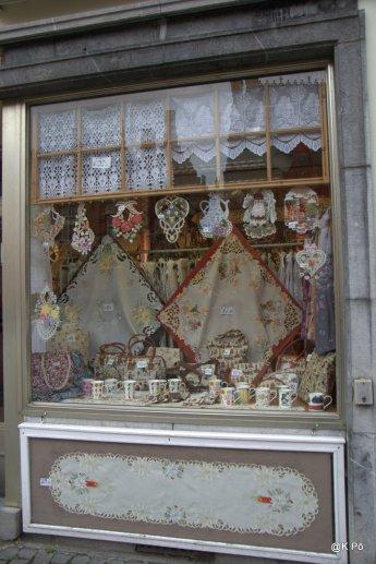 la celébre dentelle de Bruges