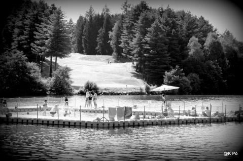 lac de Lourdes, aujourd'hui, test photo et envoi à la Presse locale par amusement)