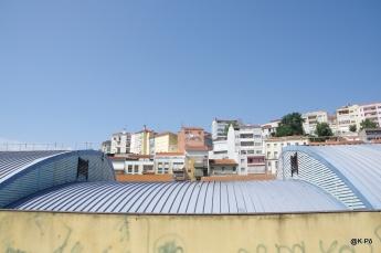 vue depuis l'arrière du marché municipal