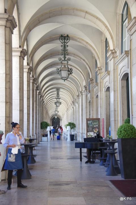 arcades praça do comercio