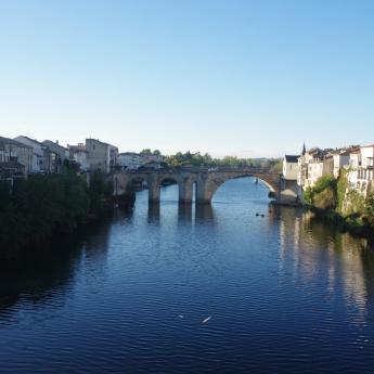le pont vieux (des Cieutat)