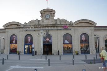 vue d'ensemble gare de Sète
