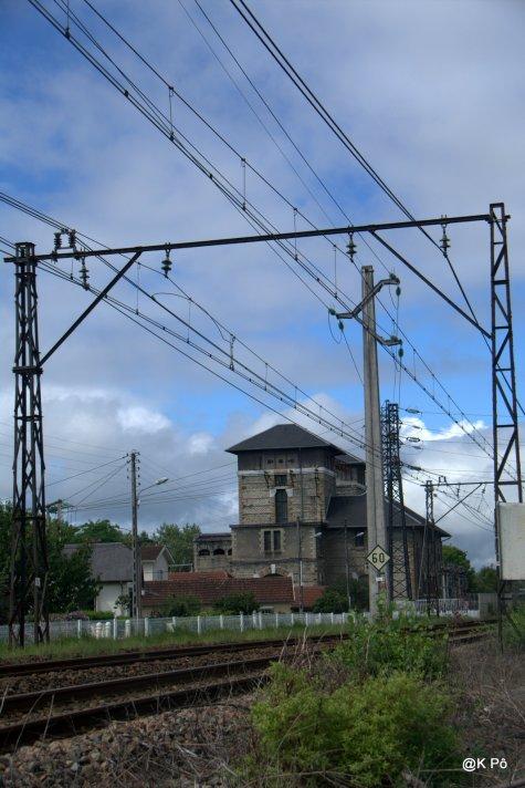 voie ferrée et transfo Pau