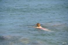 fin septembre, naïade, eau 15°