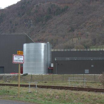 L'eau de Luchon usine
