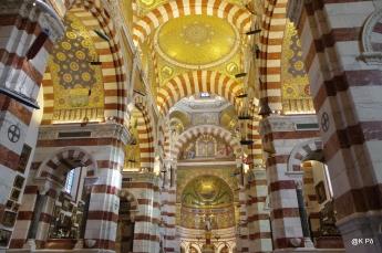 intérieur Notre Dame de la Garde
