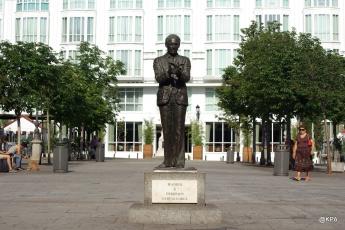 statue de Frederico Garcia Llorca