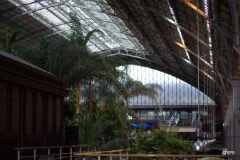 gare d'Atocha intérieur
