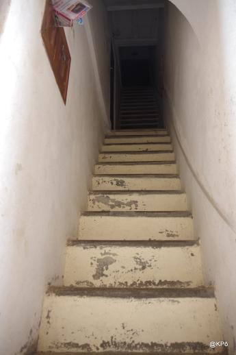 pas de seuil, escaliers direct!