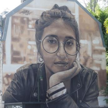 mur peint Bayonne